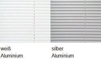 sun collection Jalousie Farbauswahl Aluminium