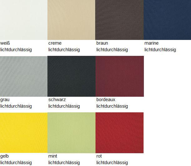 sun collection Rollo Farbauswahl Tageslicht neu