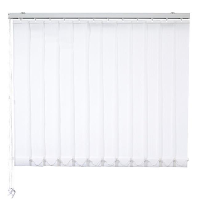 sun collection Lamellenvorhang weiß geschlossen