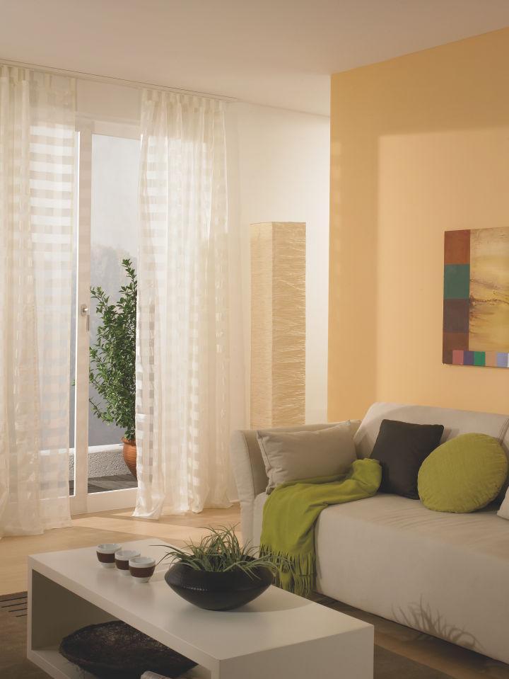 sun collection Gardinenschiene Wohnzimmer