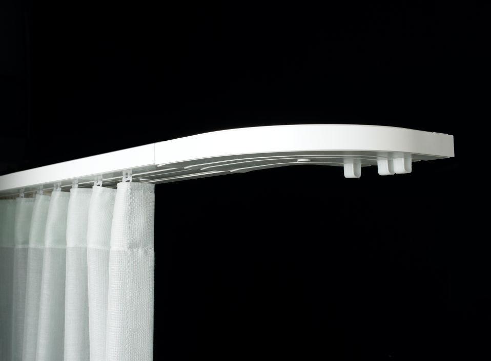 innovative gardinenschienen von sun collection. Black Bedroom Furniture Sets. Home Design Ideas
